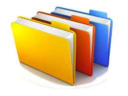 Colorful file folders holding student rec要么ds